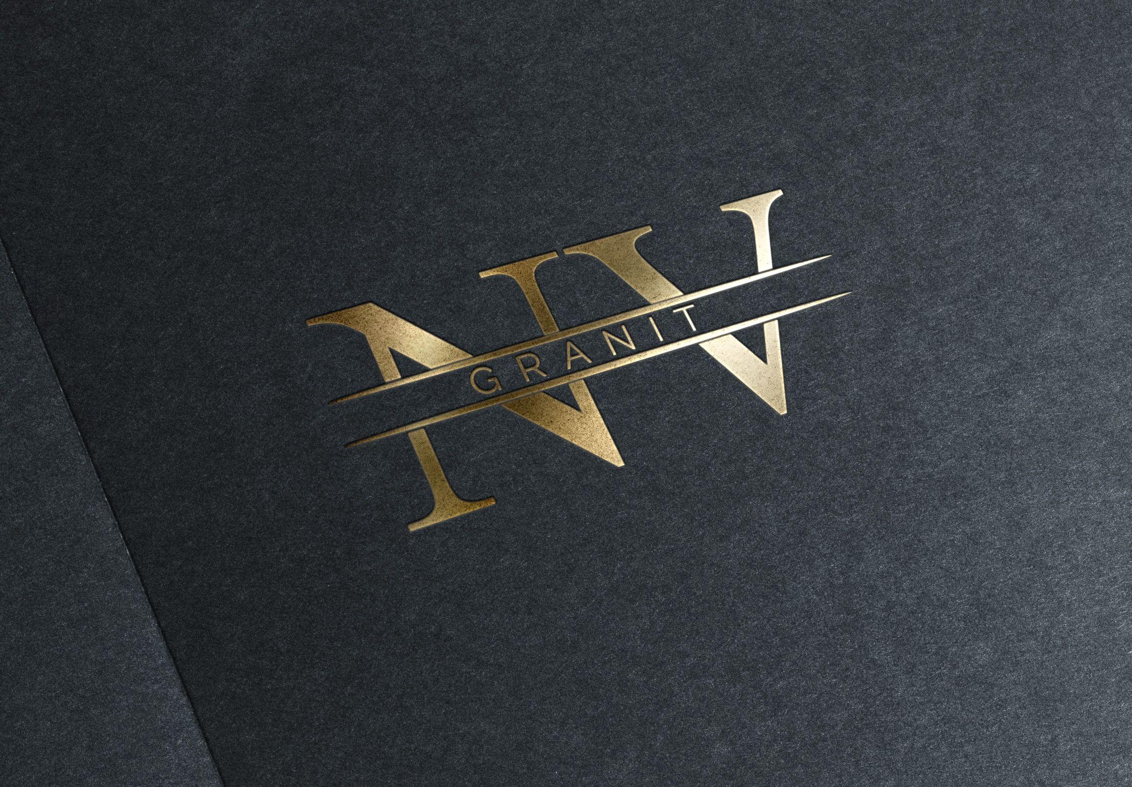 """Розробка логотипу для компанії, що створює вироби з граніту """"Nv Granit"""""""