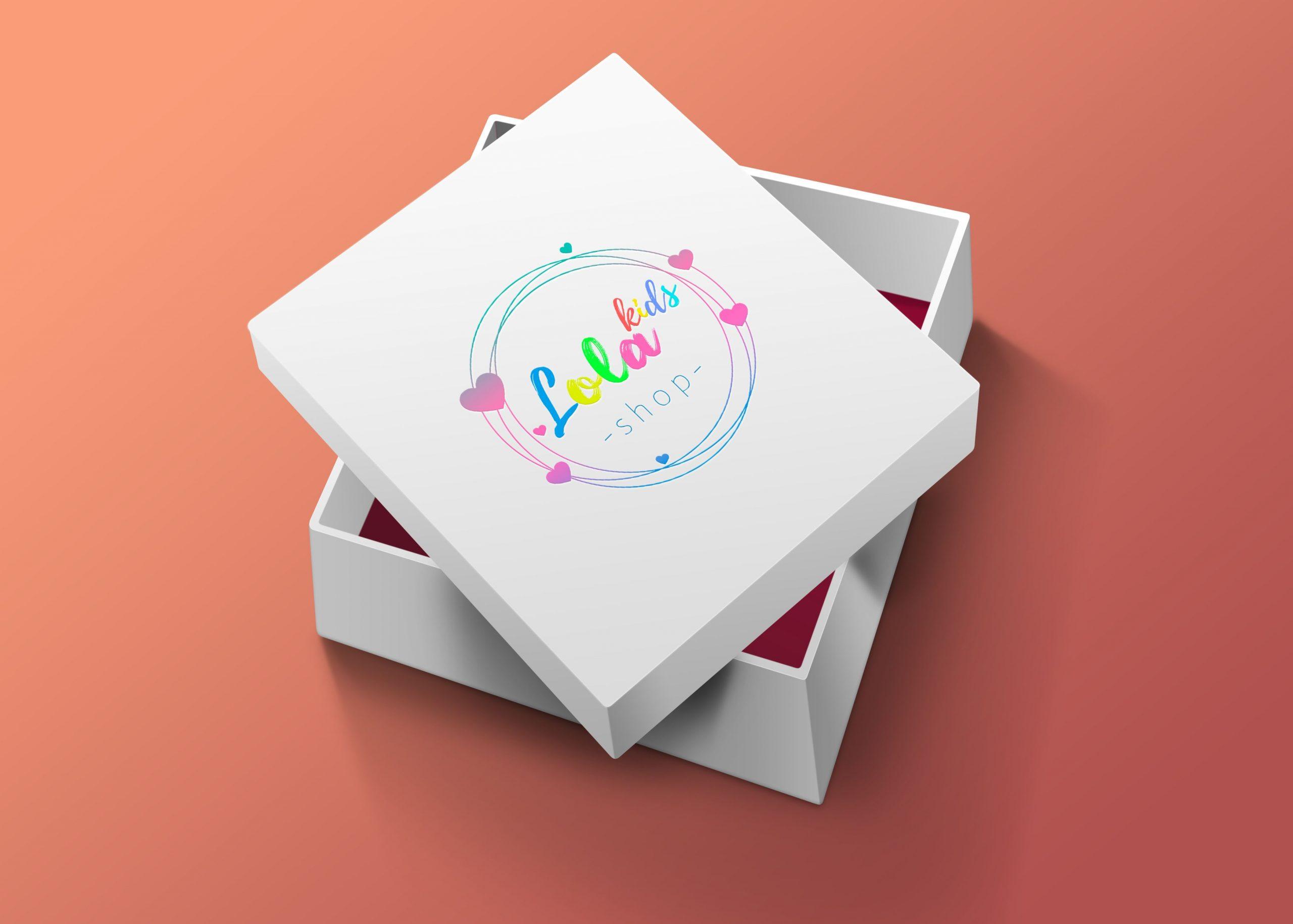 """Розробка логотипу для магазину """"Lola Shop"""""""