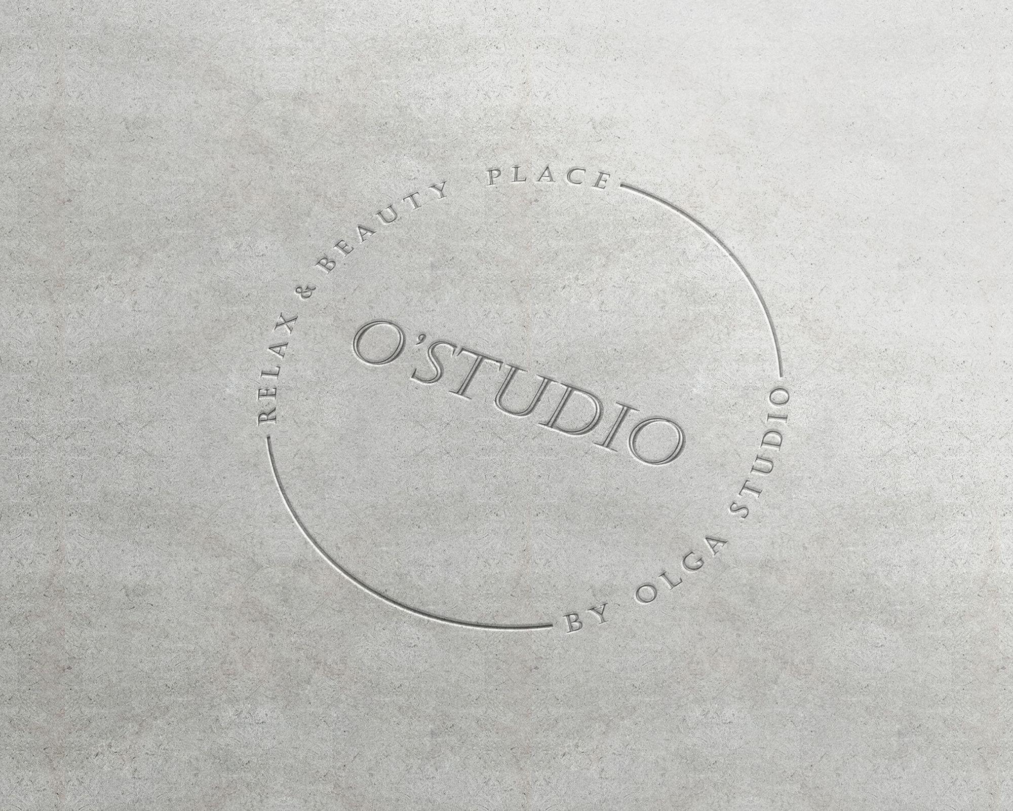 "Розробка логотипу для Relax & Beauty Plase ""O Studio"""